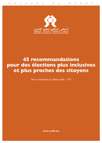 45 recommandations pour des élections plus inclusives et plus proches