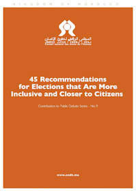 45 Rcommendations for elections that are more inclusive and closer to citizens